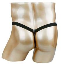 Faux leather Hot T-back Gay Men Lingerie Panties