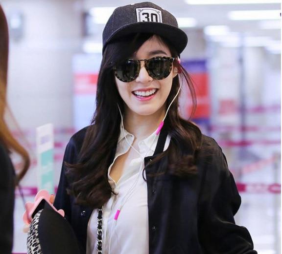 Girls  generation SNSD Yoona Sunny IU 30 black cap snapback hat summer  unisex number 30 baseball cap kpop fashion k-pop apparel ccf89f403f5