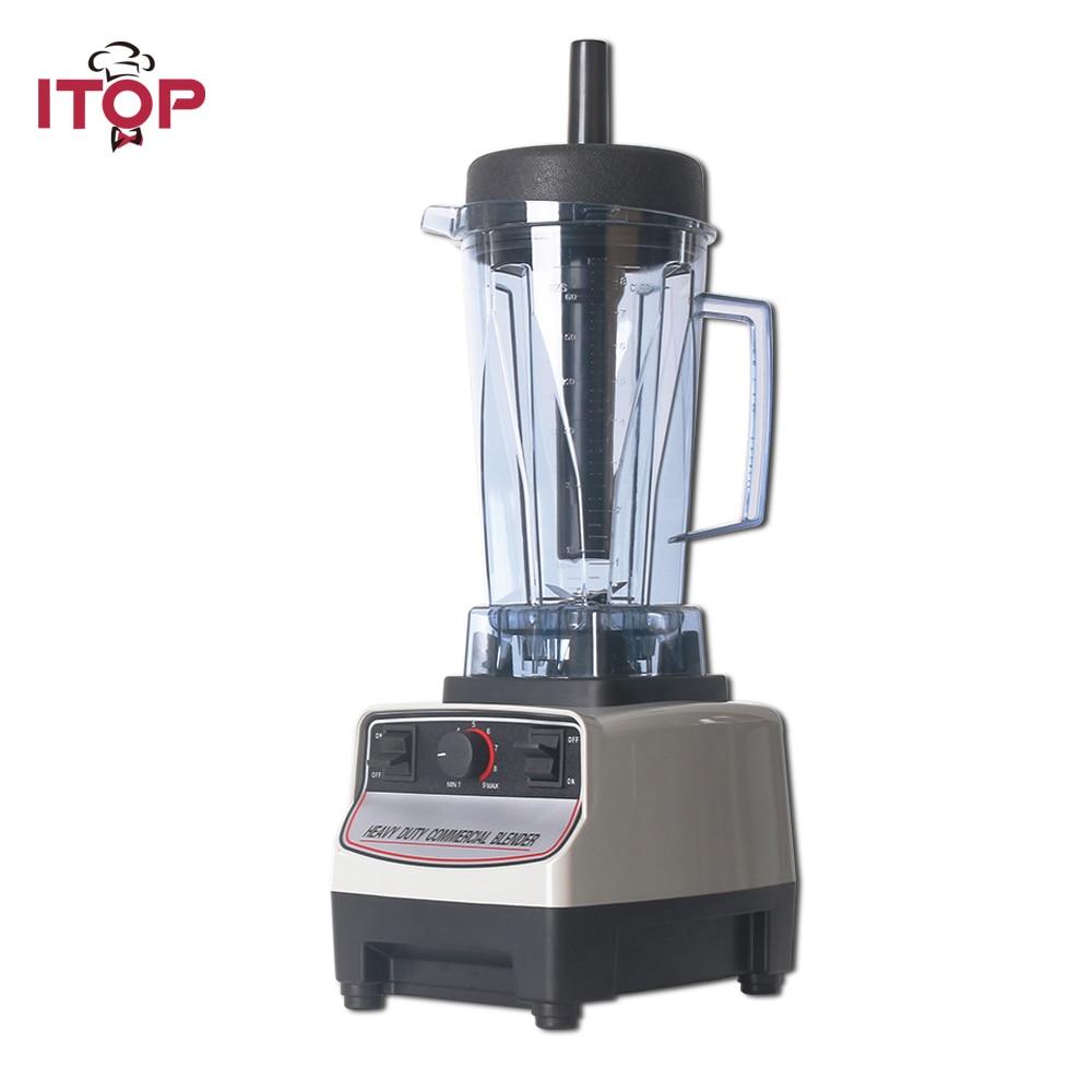 ITOP EU/US/UK Plug BPA Free Heavy Duty Professional Blender, Smoothies Juicers,Commercial Mixers Food Processors Japan Motor цена и фото