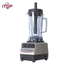 ITOP EU/US/UK Plug BPA Free Heavy Duty Professional Blender, Smoothies Juicers,Commercial Mixers Food Processors Japan Motor