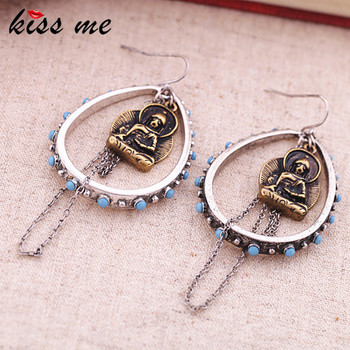 Fashion earring accessories vintage women's earrings Factory Wholesale image