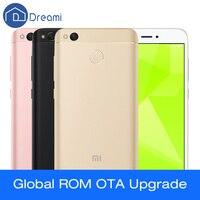 Dreami Original Xiaomi Redmi 4X Octa-core Snapdragon 435 Globale Rom 2 GB RAM 16 GB ROM 4100 mAh Fingerprint ID Redmi4X 5 zoll