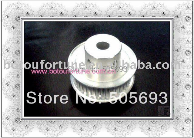 Aluminum T5 Timing pulley with belt width 15mm sells by pack 15mm width t5 steel core endless timing belt closed loop pu belt