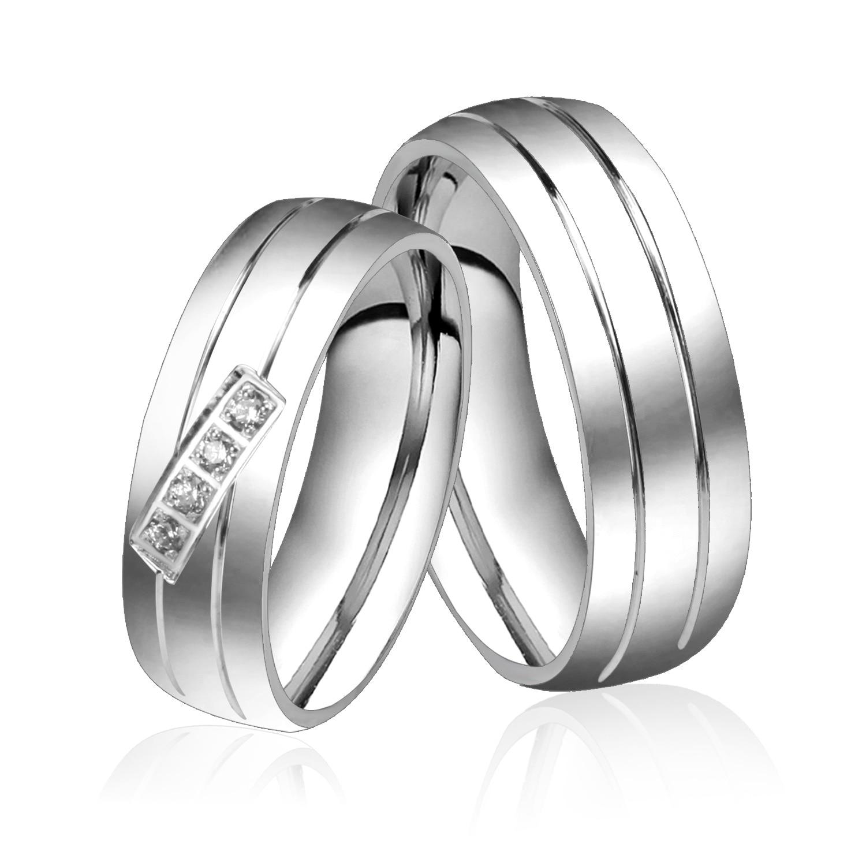 Luxury White Gold Wedding Rings Dubai Wedding