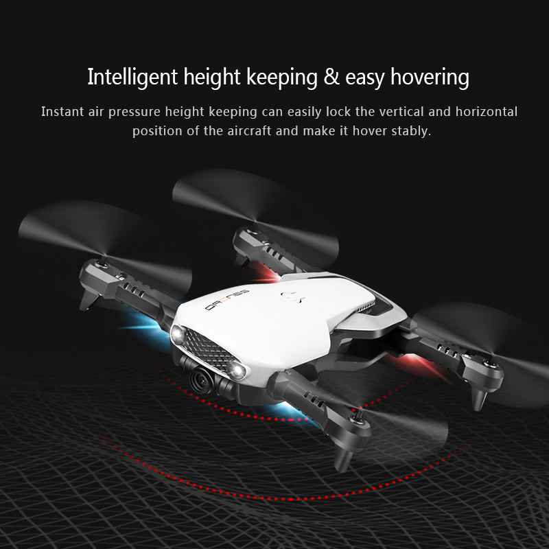 H2 WIFI FPV With 1080P HD Camera Optical Flow Foldable Arm RC Quadcopter Drone RTF VS XS809HW H37 E511-in RC Helicopters from Toys & Hobbies    3