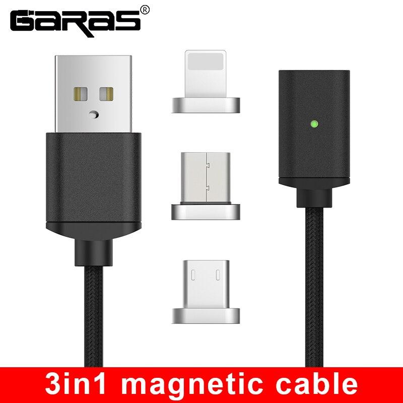 121.22руб. 37% СКИДКА|GARAS usb type C/Micro USB Магнитный кабель USB C/type C быстрое зарядное устройство магнитный кабель для мобильного телефона|cable for|cable for ipad|magnet cable - AliExpress