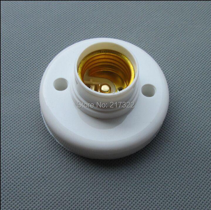 10pcs/lot, E27 Lamp Base Holder E27 Lamp Fitting Fix Base LED Lamp Aging Test Holder E27 Socket