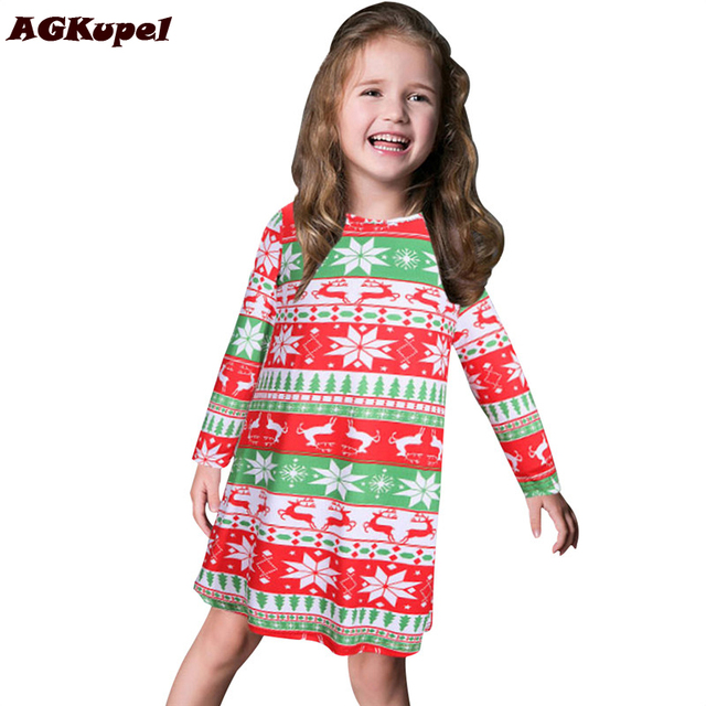 Aliexpress.com : Buy Hot Christmas Girl Dresses Girl Kids Pageant ...