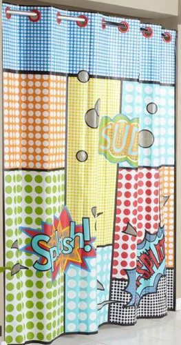 warm tour hookless fashion shower curtain polyester curtain with hooks