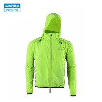 ROCKBROS Bike Cycling Jersey With Hood Outdoor Sports Reflective Wind Coat Windproof Long Sleeve Bycle Jersey