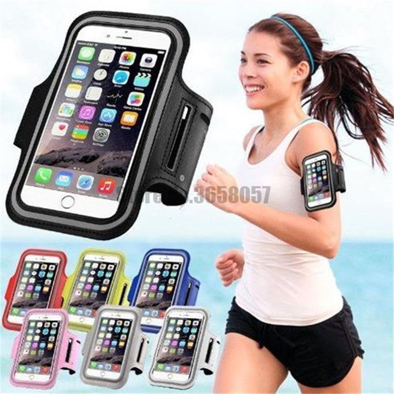 Armbands 50pcs/lot Universal Waterproof Running Sport Armband Case For Iphone 7 8 6 6s 5 5s Se Clear Screen View Touch Sensible Exercise With The Best Service