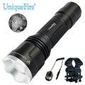 Unique 1507 IR 850nm Infrarot Licht Taschenlampe Einstellbare Led taschenlampe mit Druck Schalter und Umfang Halterung für Outdoor Jagd|LED-Taschenlampen|Licht & Beleuchtung -