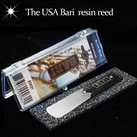 The USA BARI Resin Eb Alto Sax Reed With Star