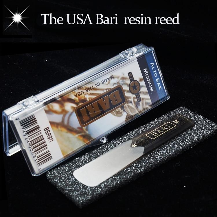 все цены на The USA BARI resin Eb alto sax reed with star