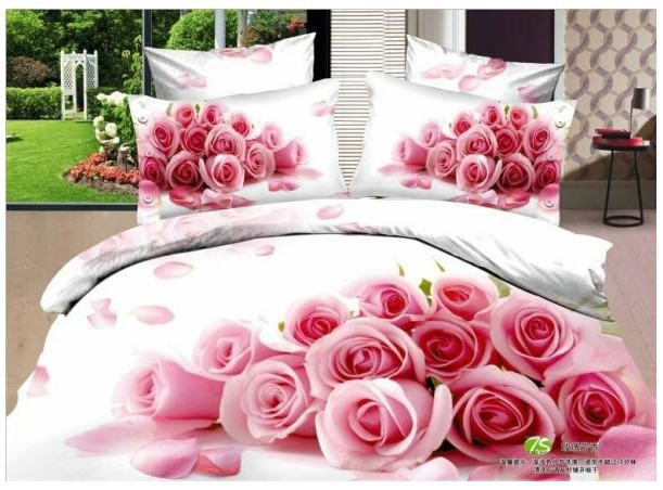 rose fleur couvre lit-achetez des lots à petit prix rose fleur