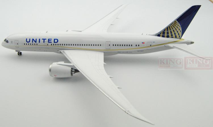GeminiJets United Airlines G2UAL519 1:200 B787-8 commercial jetliners plane model hobby