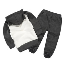 Batman Style Hoodie+Pants 2 Pcs Clothing Set