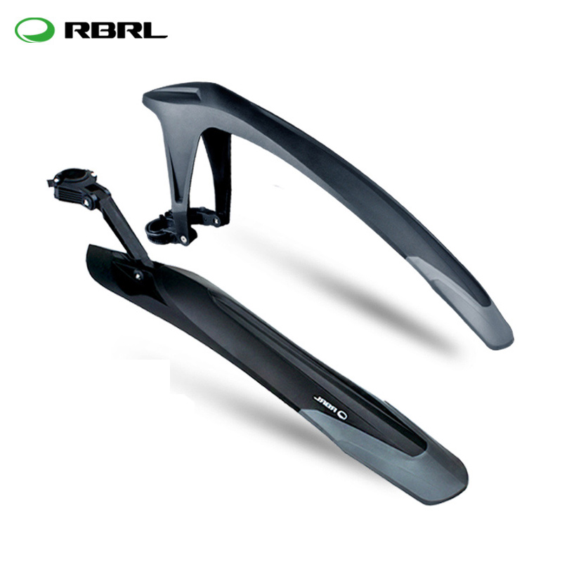 RBRL 24 26 27.5 29 Inch Mountain Bicycle Fenders Tail Soft TPE MTB Bike  Front Rear Wing Mudguard Cycling Mud Guard Accessories