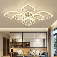 Surface mount Chandelier Modern LED Hardware Acrylic Lighting fixtures luminaire plafonnier for living room Bedroom