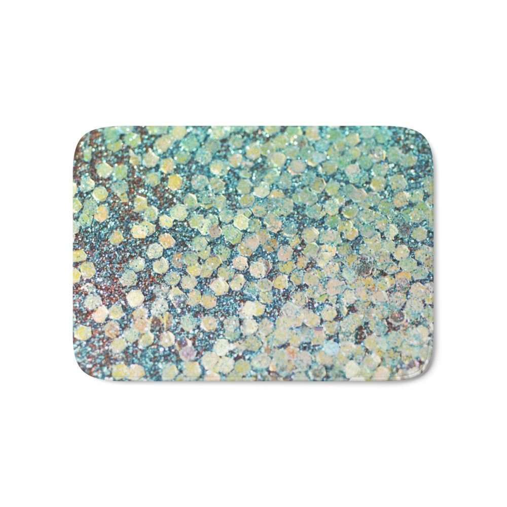 Mermaid Scales Bath Mat Pattern Muti-purpose Bedroom Rugs Decor