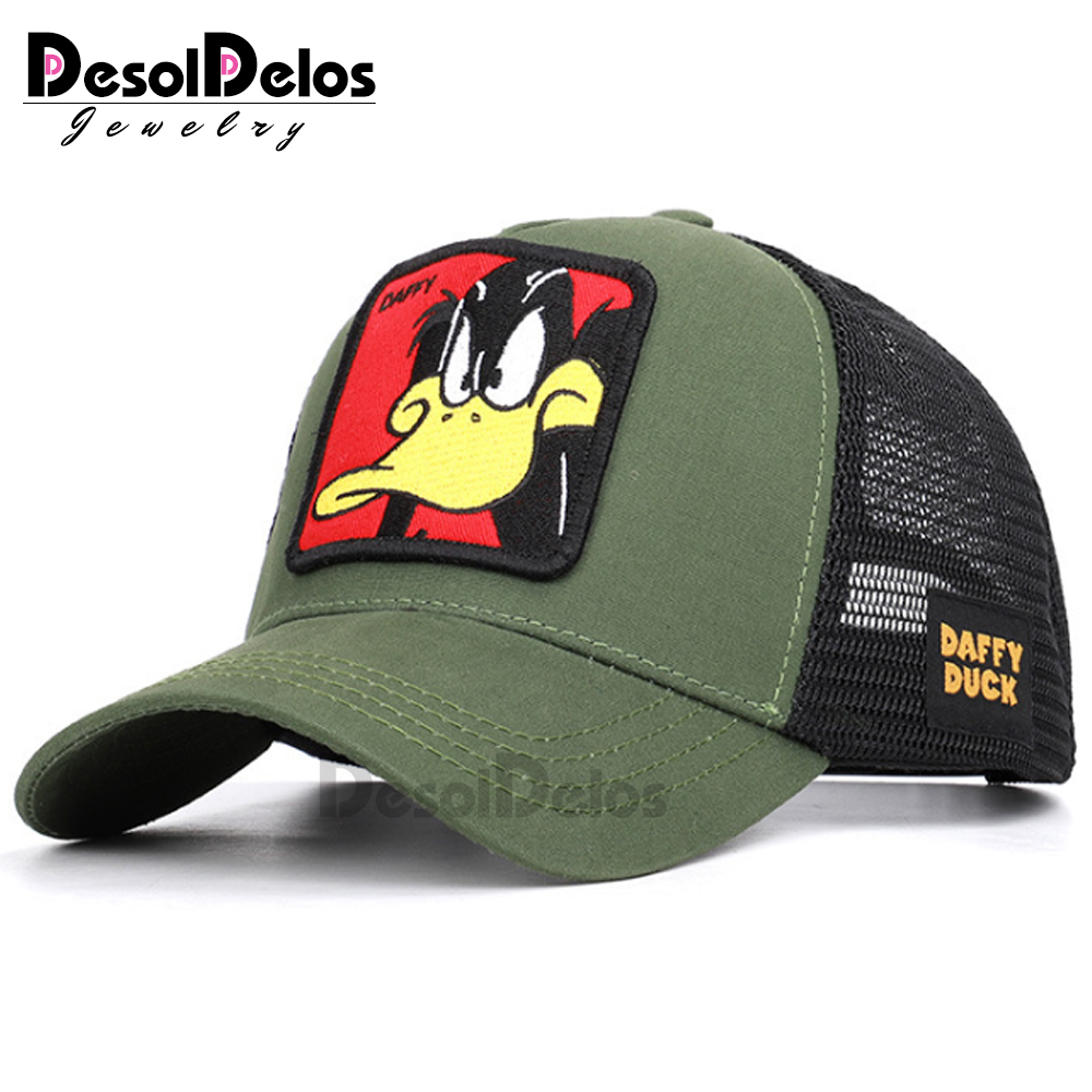 2019 Animals   Cap   Embroidery Mesh   Baseball     Cap   Unisex Women Men Snapback   Cap   Dad Hat Summer Bone Adjustable Hip Hop Dad Gorras