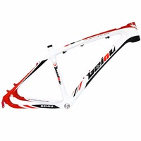 BEIOU 3K Carbon Fiber Mountain Bike Frame 26 Inch Glossy Unibody External Cable Routing T700 Ultralight