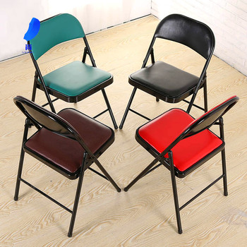 6psc High quality office meeting training Folding chair