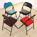 6psc High quality office meeting training Folding chair Comfort backrest chair Home Outdoor chair Simple computer folding chair