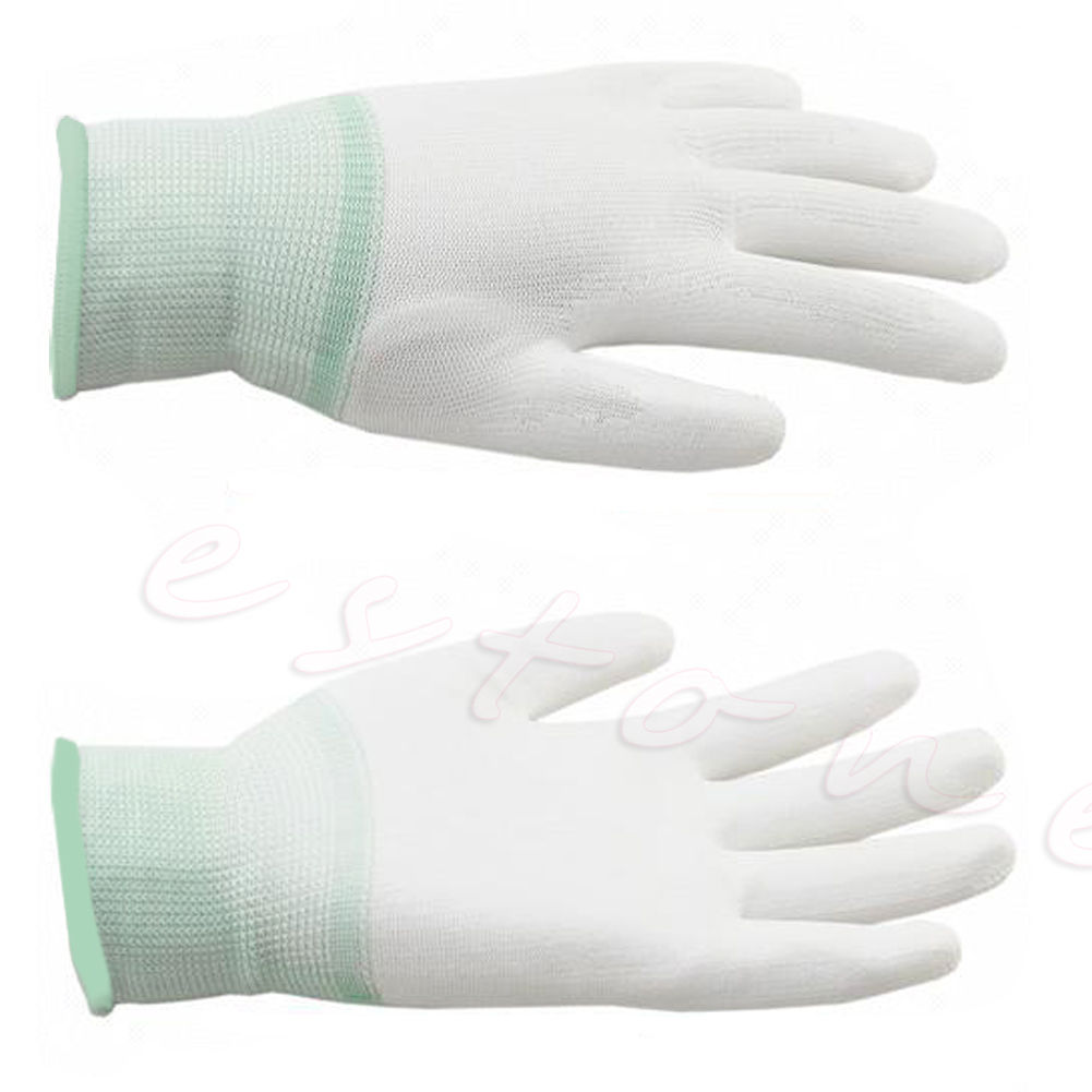 Nylon Quilters Free Motion Machine Quilting Sewing Grip Gloves Fingertip Grip