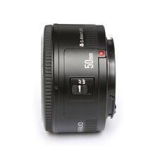 YONGNUO YN50mm f1.8 YN 50mm AF Objectif YN50 Auto Focus lens + capot + UV len + sac pour Canon EOS DSLR Caméras Caméra Accessoires