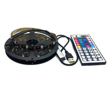 USB Power Supply LED Strip 3528 50/100/200/500cm nowaterproof Tape DC 5V TV Background Lighting DIY Decorative Lamp
