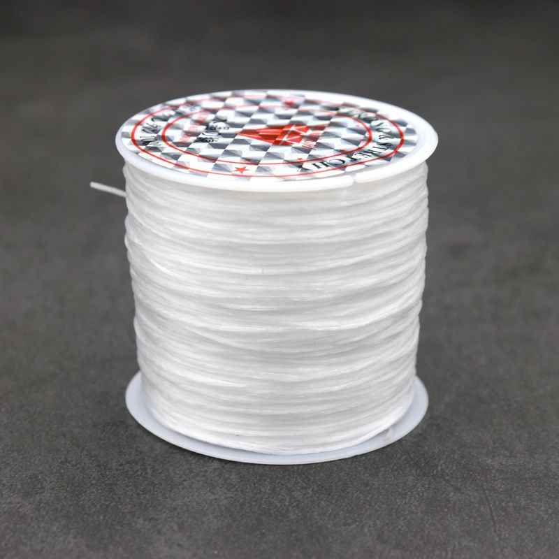 50m Strong Stretchy Beading Elastic Crystal String Cord Wire Thread Rope for DIY Bracelets Necklace Jewelry Findings Making