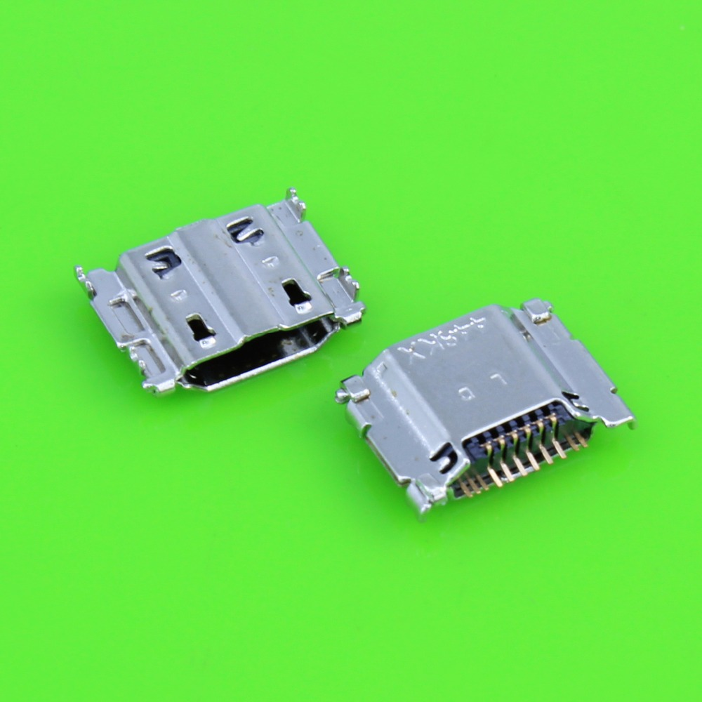 10pcs Mini Micro USB Charging Port Power Jack For Samsung Galaxy S3 I9300 I9305 USB Connector Micro USB Socket 11pin