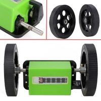 200 Times Min Meter Counter 1 3 Rolling Wheel Mechanical Length Counters With Two Rolling Wheel