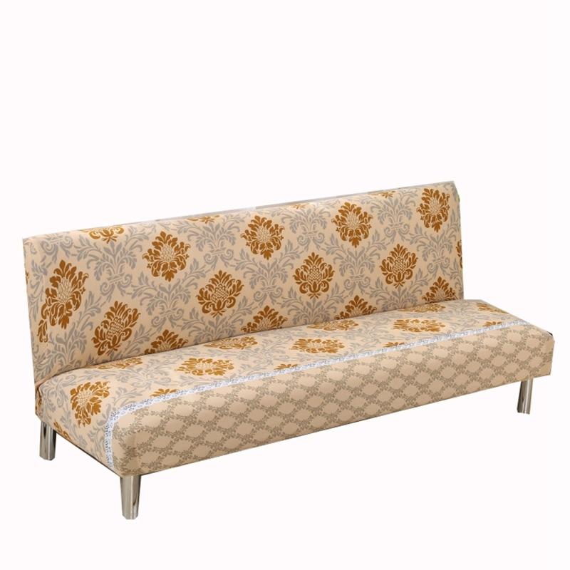 Elegant Geometric Pattern Printing Sofa Bed Covers For
