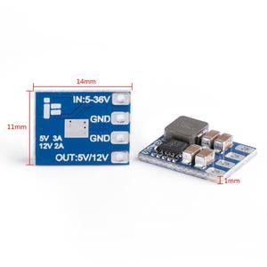 Image 3 - 4 adet/grup iFlight mikro 2 8S BEC 5V/12V çıkış/Step down regülatörü modülü RC FPV yarış Drone PS Matek sistemleri mikro BEC