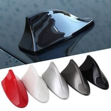 Antena barbatana de tubarão para sinal de carro, antena automotiva em forma de barbatana de tubarão para bmw 1 3 4 5 7 series x1 x3 x4 x5 x6 e60 e90 f15 f30 f35