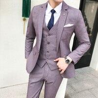 Мода Slim Fit новый синий 5XL мужской костюм Свадебная вечеринка выпускного вечера для смокинг Для мужчин s Повседневное Повседневная обувь кост