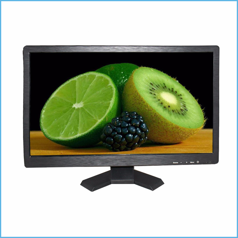 Hot sale 21 5 inch 16 9 LCD industrial screen monitor with VGA USB HDMI AV