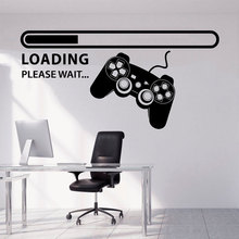 Wall Decal Gamer Xbox Loading Controller Games Sticker Home Decor Kids Teen  Bedroom Playroom Vinyl Art Decals 3085
