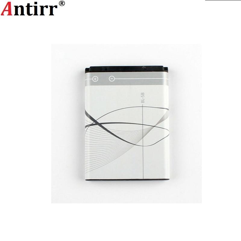 890mAh BL-5B Battery for Nokia 3230 5070 5140 5200 5300 5500 6020 6021 6060 6070 6080 6120 6120C 7260 7360 7620 N80 N90 BL-5B
