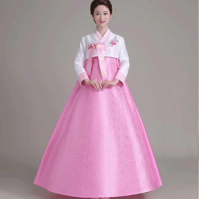 קוריאני מסורתי שמלת בגדי hanbok קוריאני שמלת חתונה קוספליי נשים קוריאני hanbok תלבושות בגדי נשים TA432 Y