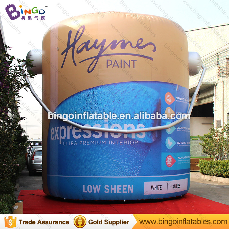 Free Delivery 5 Meters high giant inflatable oil can bottle replica advertising event blow up oil drums model toys inflatable cartoon customized advertising giant christmas inflatable santa claus for christmas outdoor decoration