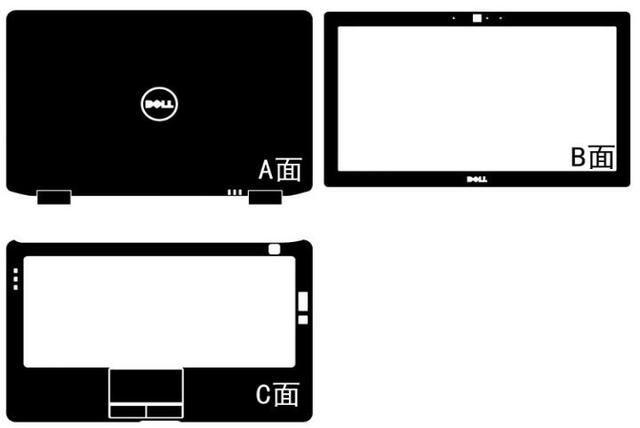 Speciale Laptop Koolstofvezel Vinyl Skin Sticker Cover Guard Voor Dell Latitude E6330 13.3 Inch