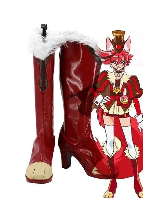 KiraKira Pretty Cure A La Mode Cure Chocolat Kenjou Akira Cosplay Shoes Boots Custom Made