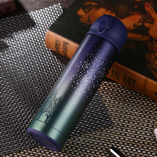 ФОТО hot sale double wall stainless steel coffee thermos cups mugs thermal bottle 500 ml thermocup fashion tumbler vacuum flask