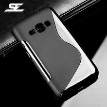 ФОТО s line soft silicone shell for samsung galaxy j1 2016 j120 j120f j120h duos sm-j120 sm-j120f/ds 4.5 inch case flexible cover