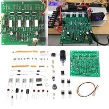 DIY kitleri 150W 10A pil kapasitesi Test cihazı ayarlanabilir sabit akım elektronik yük deşarj testi AUG_22 toptan ve DropShip