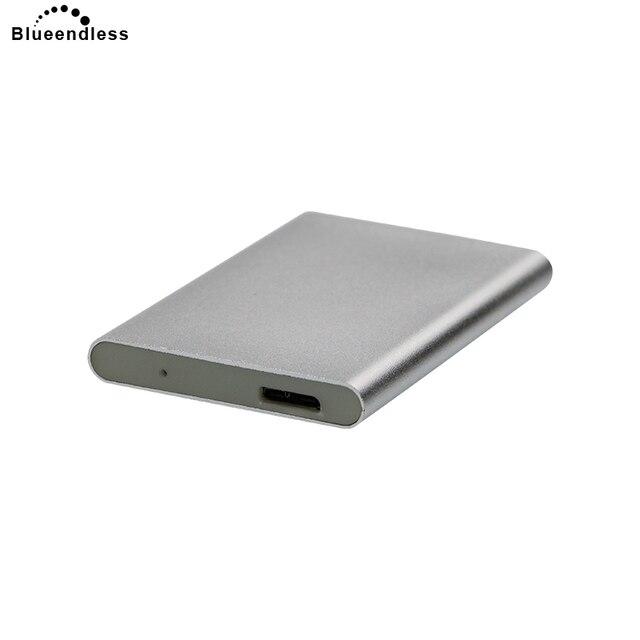 Disco Duro móvil Usb 3,0 de alta velocidad 250G/320G/500G/750G/1 capacidad de TB portátil opcional Hdd con carcasa de controlador duro resistente a los golpes
