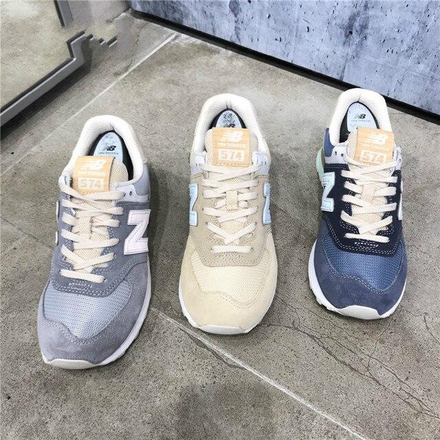 Baru pria Keseimbangan 574 Inti Ditambah ML574BSB pria Dan wanita Olahraga  Sepatu Sneaker Pelatih Besar Ukuran a83bebccb8